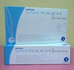Gloves nitrile Medicom SafeTouch® Slim Blue