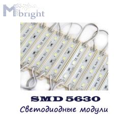 Светодиодный модуль SMD5630 3LED IP68
