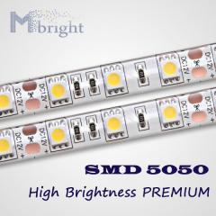 Светодиодная лента SMD5050 60LED IP67 (ПВХ трубка)