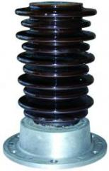 Insulators are ceramic basic