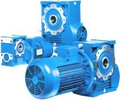 Worm reducers and motor reducers of production