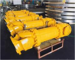 Cardan shafts and universal spindles of MAINA! AA,