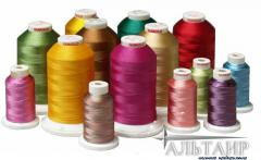 Special thread embroidery, sewing threads