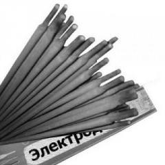 Electrode for welding high-alloyed staly the TsL-51 brand diameter of 4,0 - 5.0 mm