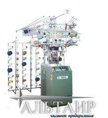 Kruglovyazalny equipment for production of