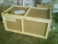 Box from an interline interval under souvenir