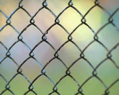 Сетка рабица черная, оцинкованная, диаметр от 1 до