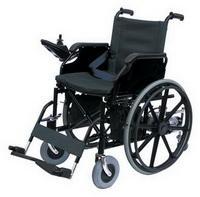Wheelchair with the electric drive. Model: