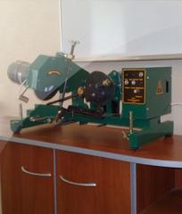 The machine for sharpening of tape saws of ZU-2
