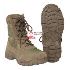 Тактические ботинки A-TACS на молнии YKK