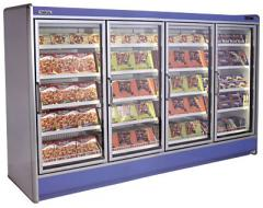 Refrigerating cases with the portable METIS uni