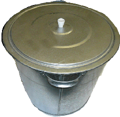 Tanks galvanized with a capacity of 15 and 32