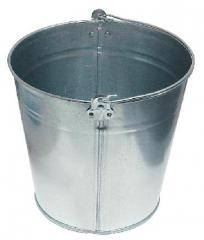 Buckets galvanized with a capacity of 5, 7, 10, 12