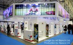 Exhibition stands - buildings, design and the