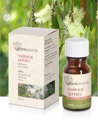 Tea Tree essential oil. Powerful antiseptic and