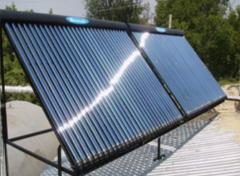 Система солнечного нагрева для горячего водоснабжения
