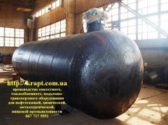 The tank for SUG of 25 cbm