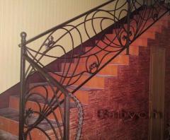 Лестницы металличекие кованые