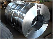 Tapes steel for booking of cables in accordance
