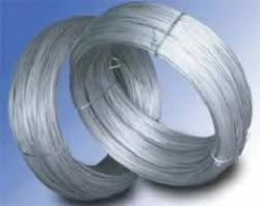 Wire without covering and galvanized (Ø1,2-5,0mm)