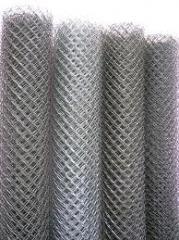 Grid metal chain-link