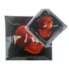 Arcofam - наборы квадратных тарелок 25 предметов.