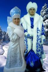 Suit of Father Frost and Snow Maiden from the