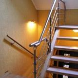 Handrail from carbonaceous steel