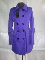 Tailoring of demi-season raincoats Wholesale in