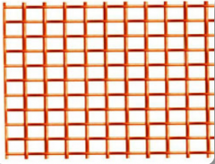 Grid woven corrosion-proof, low carbon, brass