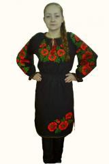 The embroidered Ukrainian Ukraine dress (UVZhCh-5