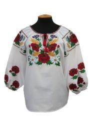 Shirt the female embroidered Ukraine