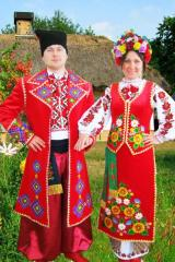 The Ukrainian national suit from the producer