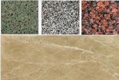 Color granite