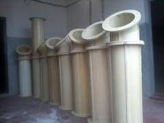 Mini-plant on production of polyurethane pipelines