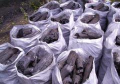 Wholesale trade in charcoal
