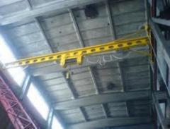 Telferajes, grúas de cables