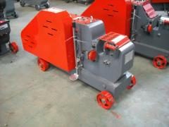 The machine for cutting of GQ-40B fittings