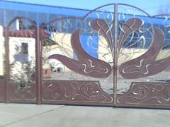 Gate shod art in Odessa