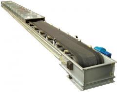 Roller belt conveyer