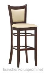 Bar stool - Valencia. A bar stool from a natural