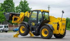 Diesel loader of JCB 533-105