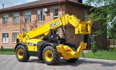 Diesel loader telescope of JCB 533-105