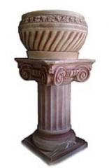 """Column with a flowerpot """"Grapes"""