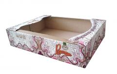 Corrugated packaging for confectionery