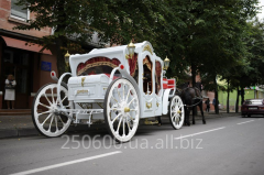 Wedding carriage.