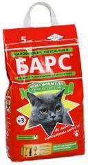 Наполнители для кошачьих туалетов ТМ Барс