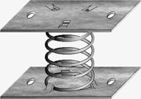 Виброизолятор  пружинный ДО45