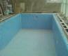 Material for swimming pools and ponds from the