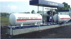 SPBT gas production of the Kremenchuk oil